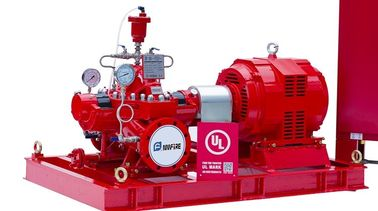 High Head Electric Motor Driven Fire Pump For Fire Fighting 200 Us GPM 102PSI