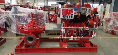 High Performance Split Case Fire Pump With Eaton Controller  50HZ-380V -000 centrifugal fire pump 	ul listed fire pumps